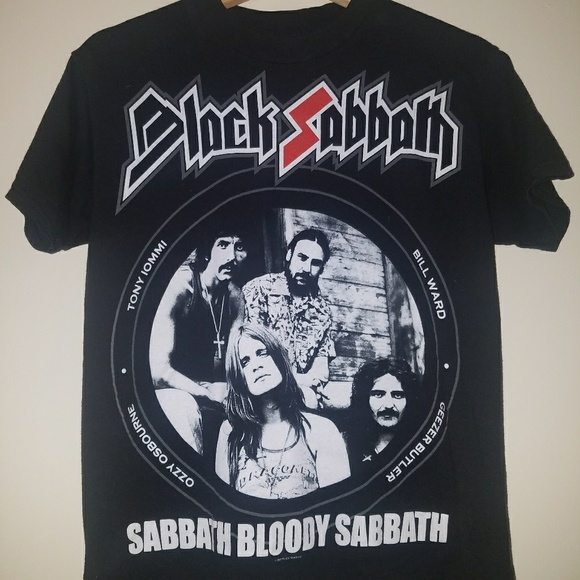 black sabbath t shirt australia